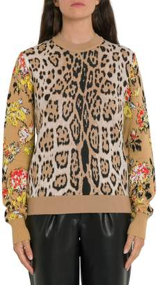 MSGM Leopard Printed Sweater