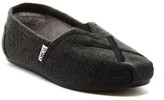 Toms Embroidered Wool Classic Slip-On Shoe