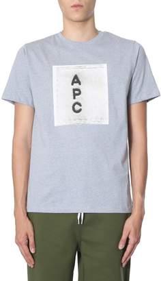 A.P.C. t-shirt with logo