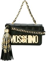 Moschino skeleton hand crossbody bag - women - Leather - One Size
