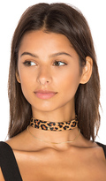 Vanessa Mooney Cyndi Choker in Brown.
