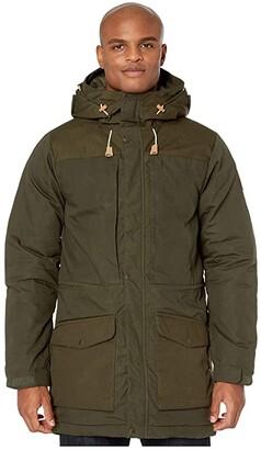 Fjallraven Singi Wool Padded Parka (Deep Forest) Men's Clothing