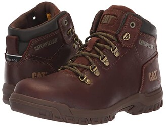 Caterpillar Mae Steel Toe WP (Cocoa) Women's Work Boots