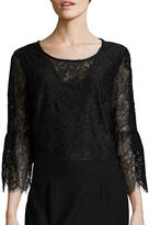 Marina Bell-Sleeved Lace Top