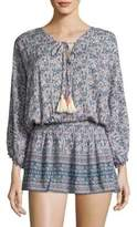 Cool Change Lotus Flower Cora Tunic