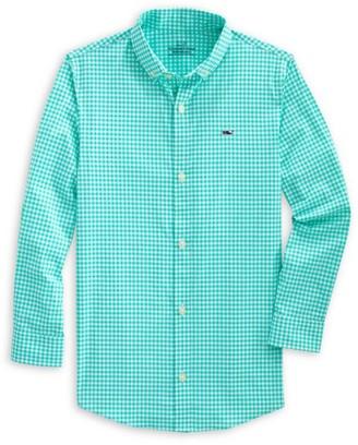 Vineyard Vines Little Boy's & Boy's Arawak Perfect Gingham Shirt