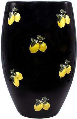 casacarta - Lemon Vase - Black