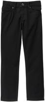 Crazy 8 Black Twill Rocker Jeans - Boys