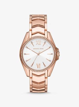 Michael Kors Whitney Rose Gold-Tone Watch