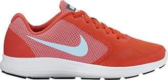 Nike Women's Revolution 3 (gs) Competition Running Shoes, Naranja/(Max Orange/Still Blue/Lava Glow/White) 000