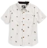 O'Neill Toddler Boy's Brees Floral Print Woven Shirt