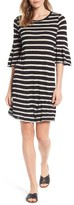 Velvet by Graham & Spencer Women's Stripe Bell Sleeve Dress