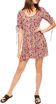 Free People Lace-Up Minidress