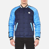 Kenzo Quilted Tiger Bomber Jacket Midnight Blue
