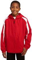 Sport-Tek YST81 Youth Fleece-Lined Colorblock Jacket - YST81 M