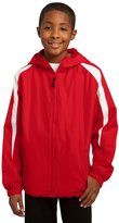 Sport-Tek YST81 Youth Fleece-Lined Colorblock Jacket - YST81 XL
