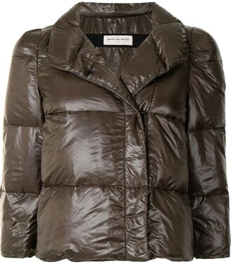 Dries Van Noten Pre-Owned Cropped Puffer Jacket