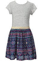 Jessica Simpson Big Girls 7-16 Lusa Skater Printed Dress