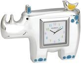 Reed & Barton Jungle Parade Rhino Clock