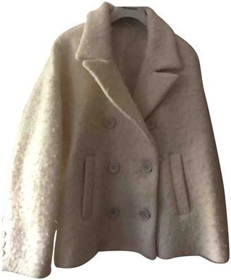 Neil Barrett Ecru Wool Jacket for Women