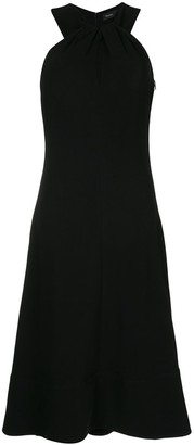 Proenza Schouler Knotted Back Halter Dress