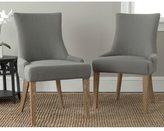 Safavieh En Vogue Dining Lester Granite Oak Side Chairs (Set of 2)