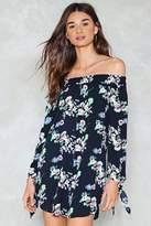 Nasty Gal Slow Summer Dancin' Floral Dress