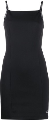 Calvin Klein Jeans logo shift dress