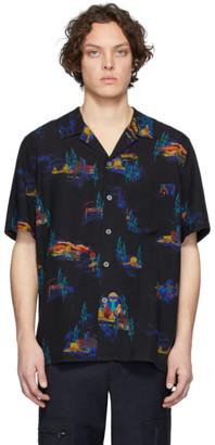 Paul Smith Black Lyocell Cosmic Camp Shirt