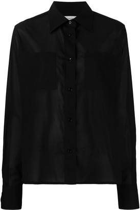 Lemaire Semi-Sheer Cotton Shirt