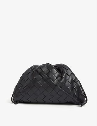 Bottega Veneta The Pouch Intrecciato leather clutch bag