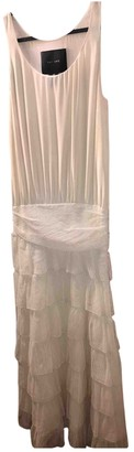 Jay Ahr White Lace Dress for Women