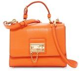 Dolce & Gabbana Small Monica Leather Tote