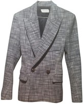 Faith Connexion Grey Wool Jacket for Women