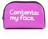 "Waldo Pancake ""Contents My Face"" Cosmetic Case - Free Uk Delivery!"