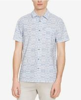 Kenneth Cole Reaction Men's Zig Zag Printed Shirt