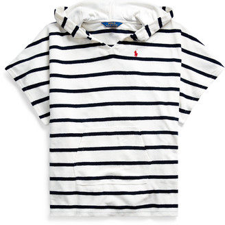 Ralph Lauren Striped Terry Cover-Up