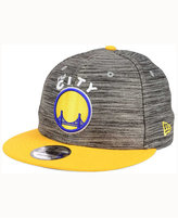 New Era Golden State Warriors Blurred Trick 9FIFTY Snapback Cap