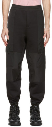 McQ Black Darkest Cargo Pants