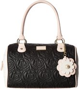 Betsey Johnson Quilted Speedy Satchel Bag