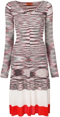 Missoni Striped Knitted Dress