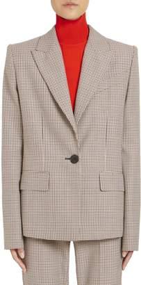 Givenchy Micro-Check Wool Jacket