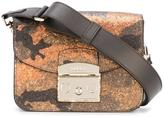 Furla glittered camouflage print bag - women - Leather - One Size