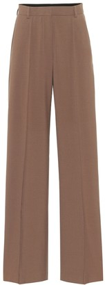Nanushka Cleo high-rise cady pants