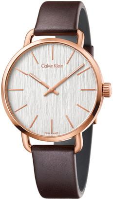 Calvin Klein Men's Even Watch