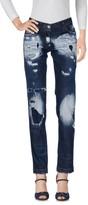 Philipp Plein Denim pants - Item 42619270