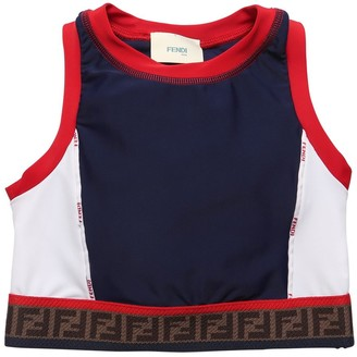 Fendi Logo Band Lycra Top