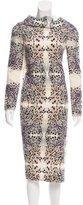 Roland Mouret Wool Draped Dress