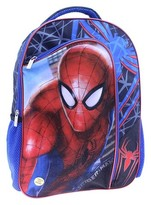 """Spiderman 16"""" Backpack with Slow Fade Light Up Eyes"""