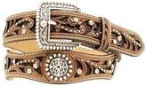 Ariat Western Belt Womens Scallop Cross Inlay Studs M A1513002